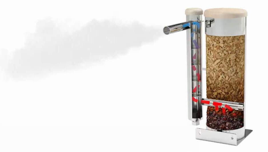 Как работает дымогенератор Merkel